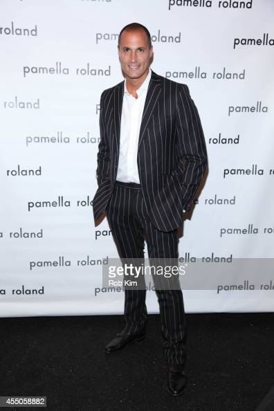 Nigel Barker attends Pamella Roland during MercedesBenz Fashion Week Spring 2015 at The Salon at Lincoln Center on September 9 2014 in New York City