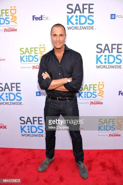 Nigel Barker attends Safe Kids Day New York City 2014 on April 12 2014 in New York City