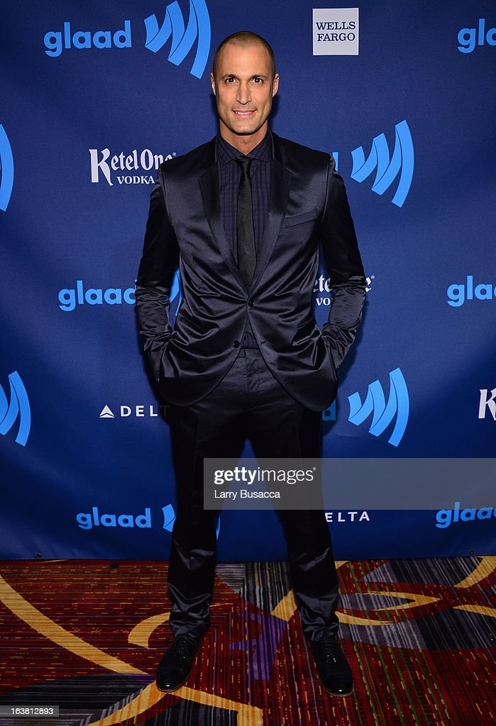 Nigel Barker attends the 24th Annual GLAAD Media Awards on March 16, 2013 in New York City.