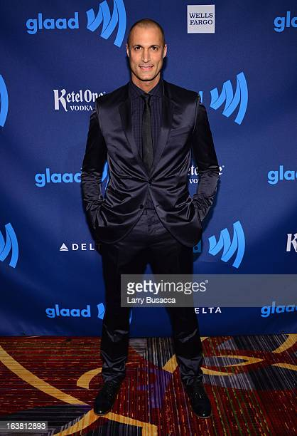 Nigel Barker attends the 24th Annual GLAAD Media Awards on March 16 2013 in New York City