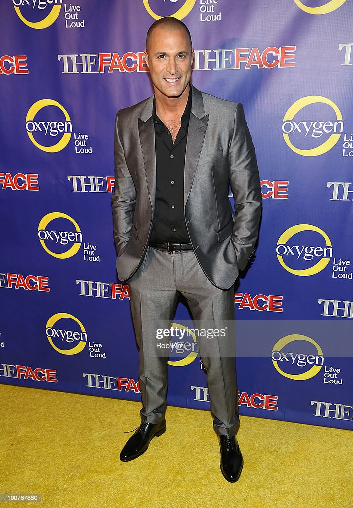 Nigel Barker attends 'The Face' Series Premiere at Marquee New York on February 5, 2013 in New York City.