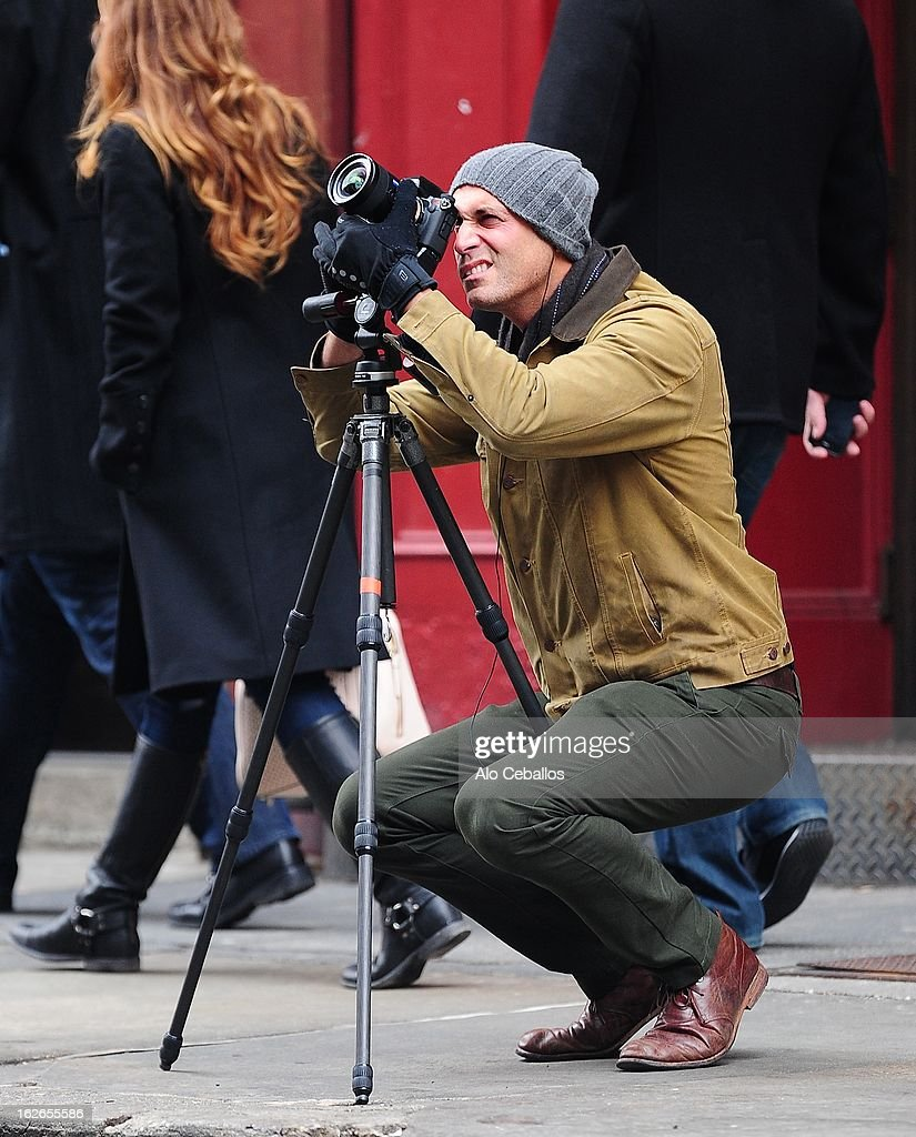 <a gi-track='captionPersonalityLinkClicked' href=/galleries/search?phrase=Nigel+Barker&family=editorial&specificpeople=691819 ng-click='$event.stopPropagation()'>Nigel Barker</a> is seen in Soho on February 25, 2013 in New York City.