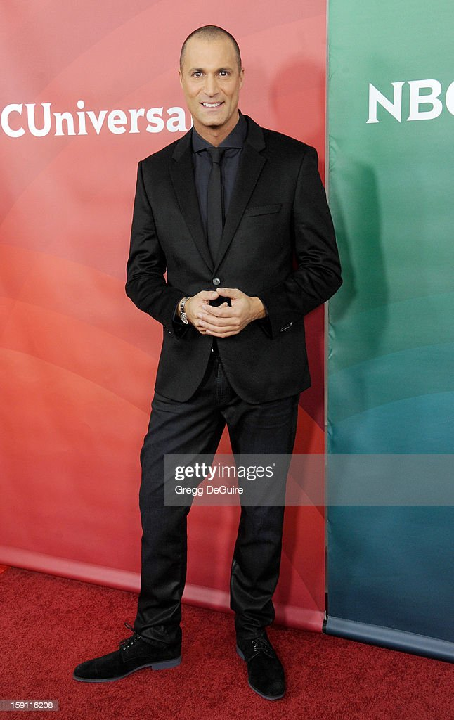 Nigel Barker poses at the 2013 NBC Universal TCA Winter Press Tour Day 2 at The Langham Huntington Hotel and Spa on January 7, 2013 in Pasadena, California.