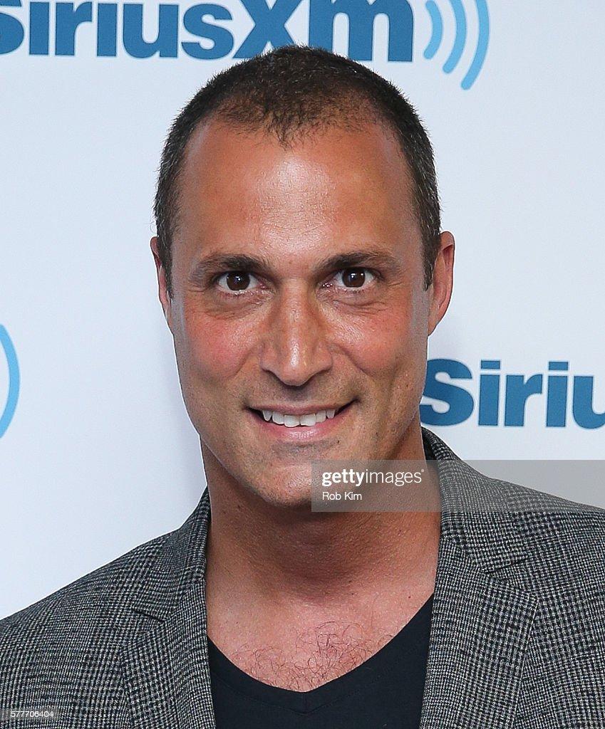 Nigel Barker visits at SiriusXM Studio on July 19 2016 in New York City