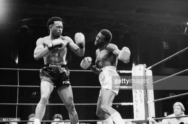 Nigel Benn vs Abdul Umaru Sanda at Alexandra Pavilion London Benn stopped his opponent in the second round 20th April 1988