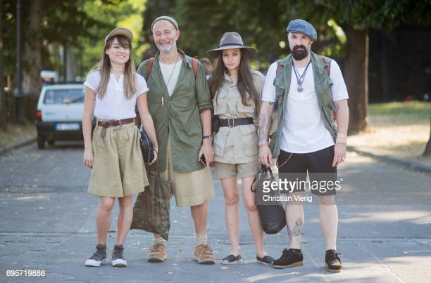 Nigel Caboum is seen during Pitti Immagine Uomo 92 at Fortezza Da Basso on June 13 2017 in Florence Italy