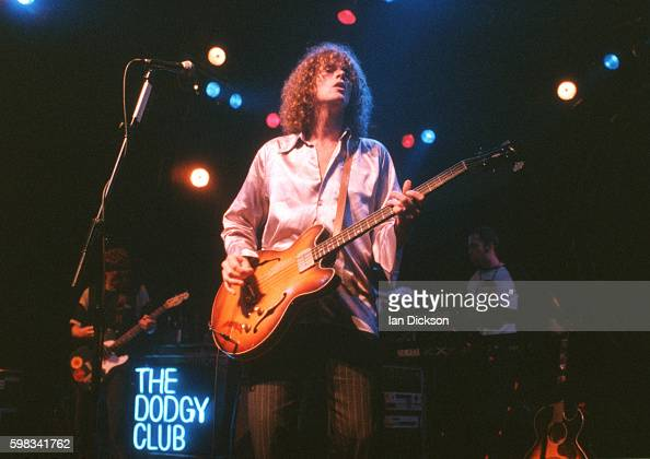 Nigel Clark of Dodgy performing on stage at The Forum Kentish Town London 09 June 1995
