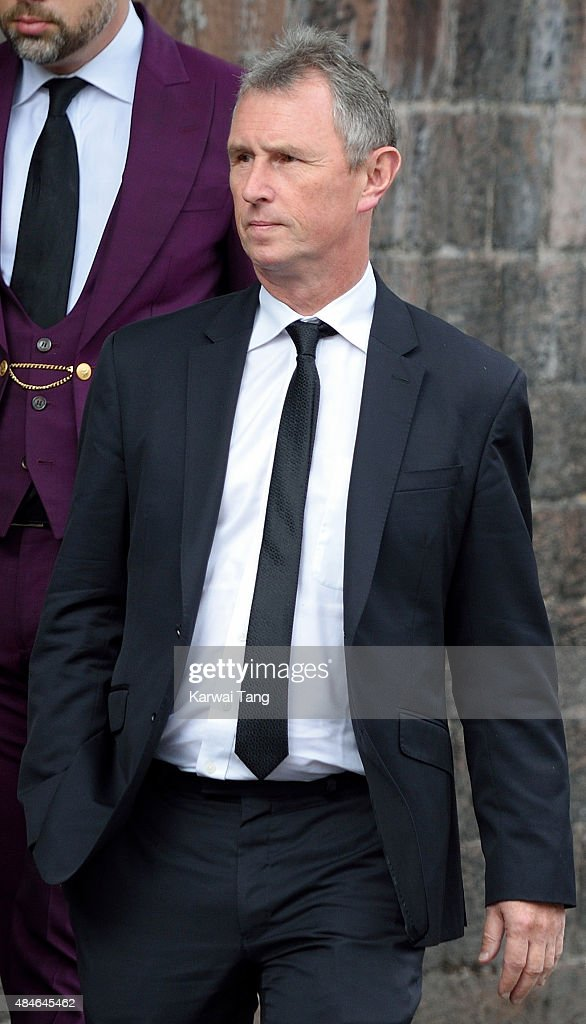 <a gi-track='captionPersonalityLinkClicked' href=/galleries/search?phrase=Nigel+Evans&family=editorial&specificpeople=2486752 ng-click='$event.stopPropagation()'>Nigel Evans</a> attends the funeral of Cilla Black at St Mary's Catholic Church on August 20, 2015 in Liverpool, England.