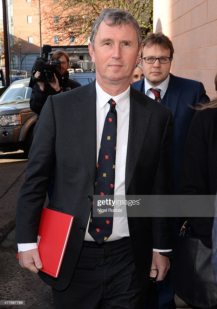 <a gi-track='captionPersonalityLinkClicked' href=/galleries/search?phrase=Nigel+Evans&family=editorial&specificpeople=2486752 ng-click='$event.stopPropagation()'>Nigel Evans</a> MP for Ribble Valley arrives at Preston Crown Court for the first day of his trial for sexual offences on March 10, 2014 in Preston, Lancashire. <a gi-track='captionPersonalityLinkClicked' href=/galleries/search?phrase=Nigel+Evans&family=editorial&specificpeople=2486752 ng-click='$event.stopPropagation()'>Nigel Evans</a>, the former deputy speaker of the House of Commons is accused of sexual offences against seven men. The 56-year-old faces nine charges dating from 2002 to April 1 2013. He denies two counts of indecent assault, six of sexual assault and one of rape.