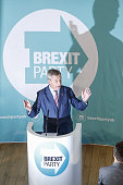 GBR: Brexit Party Leader Farage Launches General Election Campaign