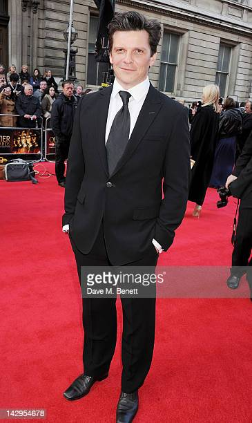 Nigel Harman arrives at the 2012 Olivier Awards held at The Royal Opera House on April 15 2012 in London England