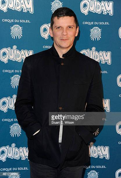 Nigel Harman attends the 'Cirque Du Soleil Quidam' opening night at the Royal Albert Hall on January 7 2014 in London England