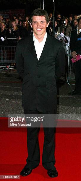 Nigel Harman during 2003 National TV Awards Arrivals at Royal Albert Hall in London Great Britain