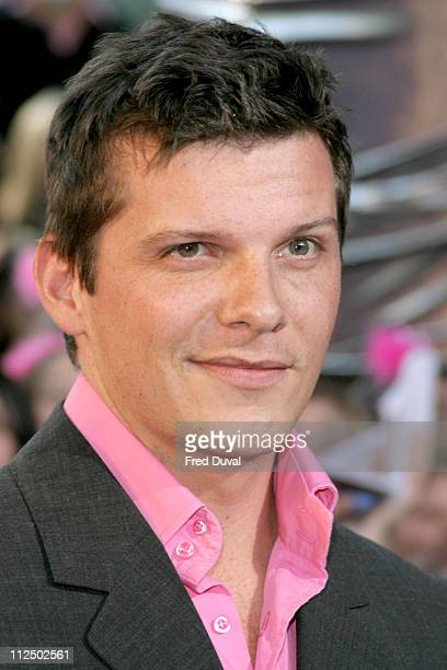 Nigel Harman during 2005 British Soap Awards Arrivals at BBC Television Centre in London Great Britain