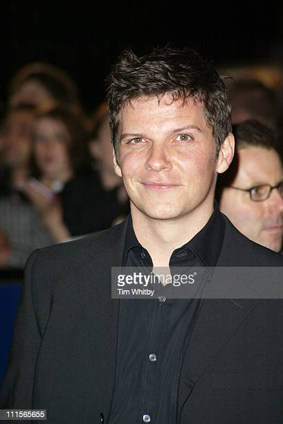 Nigel Harman during National Television Awards 2005 Arrivals at Royal Albert Hall in London Great Britain