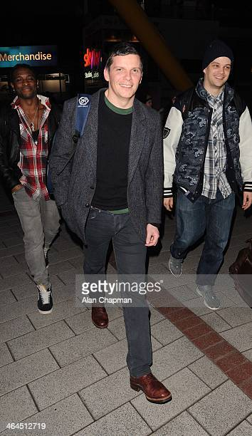 Nigel Harman sighting on January 22 2014 in London England