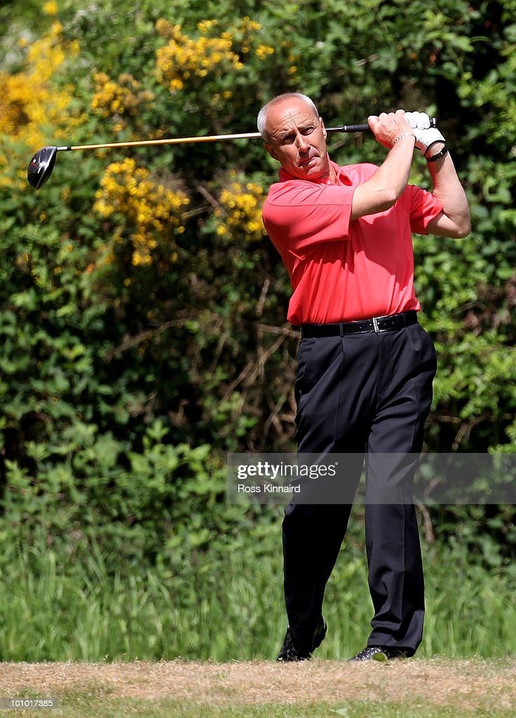 Nigel Hurst during the second round of the Senior PGA Professional Championship at Northamptonshire County Golf Club on May 27, 2010 in Northampton, England.