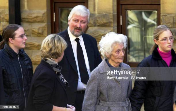 Nigel Jones MP arriving at the funeral of Andrew Pennington at St Matthew's Church Cheltenham Liberal Democrat aide Andrew Pennington died in a sword...