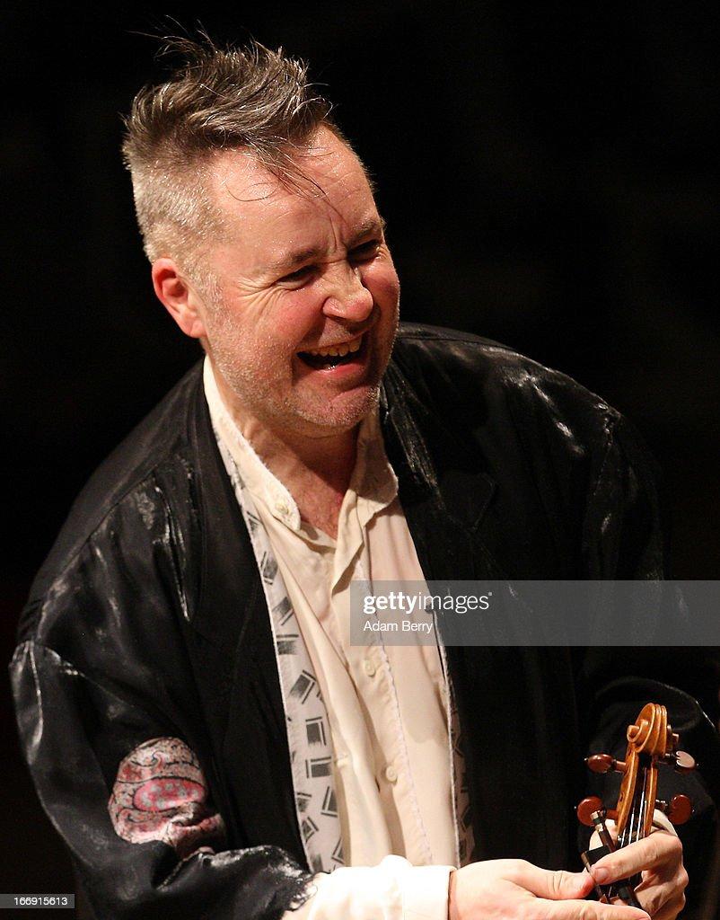 Nigel Kennedy performs at Konzerthaus Am Gendarmenmarkt on April 18, 2013 in Berlin, Germany.