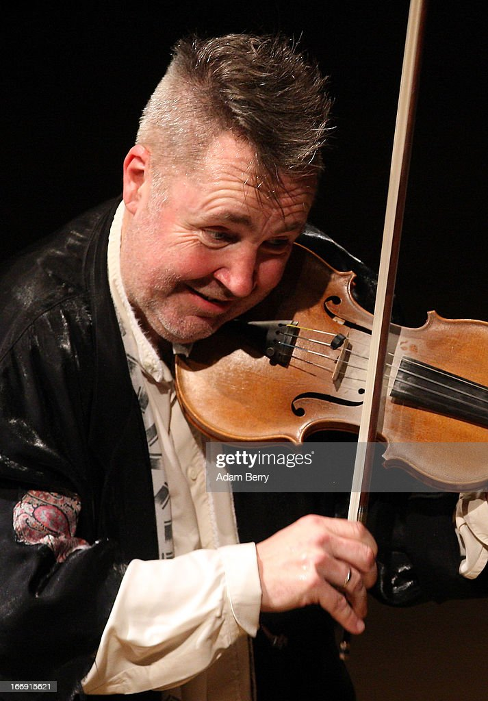 Nigel Kennedy performs at Konzerthaus Am Gendarmenmarkt on April 18, 2013 in Berlin, Germany.