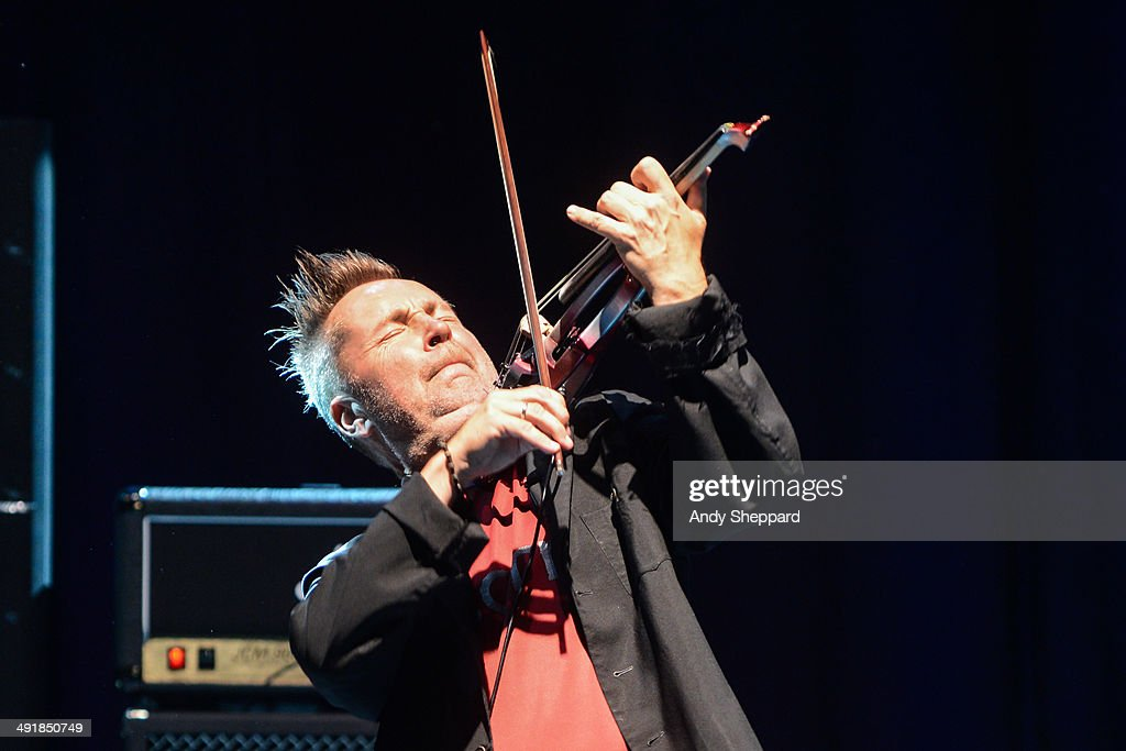 <a gi-track='captionPersonalityLinkClicked' href=/galleries/search?phrase=Nigel+Kennedy&family=editorial&specificpeople=991974 ng-click='$event.stopPropagation()'>Nigel Kennedy</a> performs on stage at The Roundhouse on May 17, 2014 in London, United Kingdom.