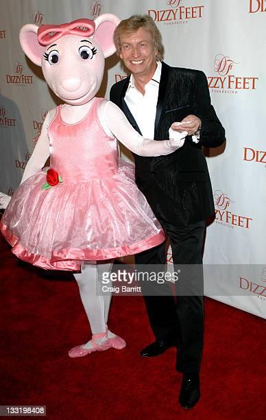 Nigel Lithgoe arrives at the Dizzy Feet Foundation's Inaugural Celebration Of Dance at the Kodak Theatre on November 29 2009 in Hollywood California