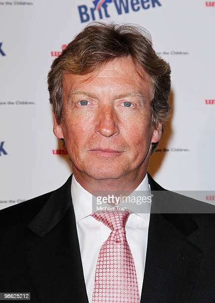 Nigel Lythgoe arrives to the BritWeek 2010 charity event 'Save The Children And Virgin Unite' held at the Beverly Wilshire hotel on April 22 2010 in...