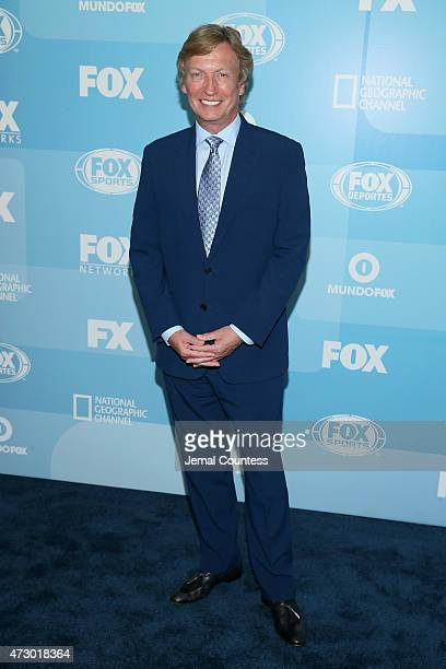 Nigel Lythgoe attends the 2015 FOX programming presentation at Wollman Rink in Central Park on May 11 2015 in New York City