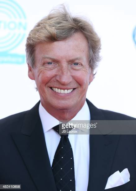 Nigel Lythgoe attends the 4th Annual Celebration Of Dance Gala Presented By The Dizzy Feet Foundation at Dorothy Chandler Pavilion on July 19 2014 in...