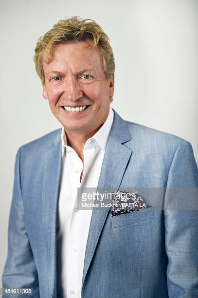 Nigel Lythgoe poses for a portrait at the BAFTA luncheon or on August 23 2014 in Los Angeles California