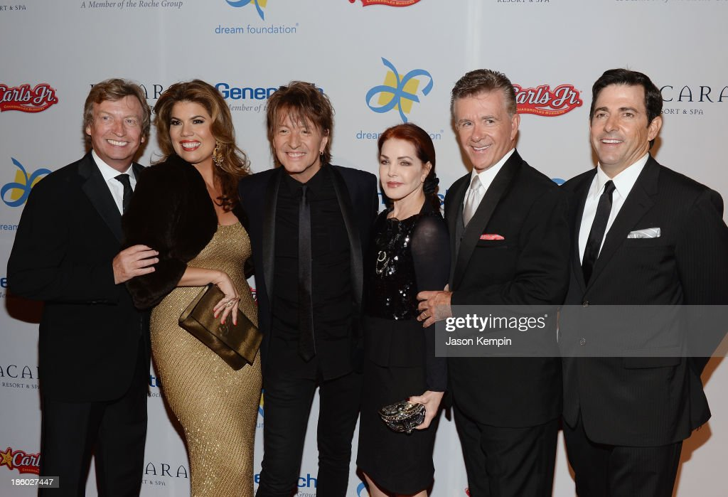 <a gi-track='captionPersonalityLinkClicked' href=/galleries/search?phrase=Nigel+Lythgoe&family=editorial&specificpeople=736462 ng-click='$event.stopPropagation()'>Nigel Lythgoe</a>, <a gi-track='captionPersonalityLinkClicked' href=/galleries/search?phrase=Tanya+Callau&family=editorial&specificpeople=235953 ng-click='$event.stopPropagation()'>Tanya Callau</a>, <a gi-track='captionPersonalityLinkClicked' href=/galleries/search?phrase=Richie+Sambora&family=editorial&specificpeople=204195 ng-click='$event.stopPropagation()'>Richie Sambora</a>, <a gi-track='captionPersonalityLinkClicked' href=/galleries/search?phrase=Priscilla+Presley&family=editorial&specificpeople=93969 ng-click='$event.stopPropagation()'>Priscilla Presley</a>, <a gi-track='captionPersonalityLinkClicked' href=/galleries/search?phrase=Alan+Thicke&family=editorial&specificpeople=240157 ng-click='$event.stopPropagation()'>Alan Thicke</a> and Thomas Rollerson attend the 12th Annual Celebration Of Dreams Gala at Bacara Resort And Spa on October 26, 2013 in Santa Barbara, California.