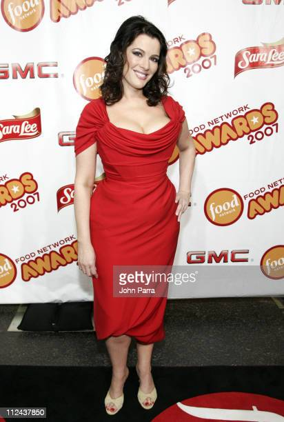 Nigella Lawson during 6th Annual Food Network Wine Food Festival Food Network Awards Show Arrivals with Catherine Zeta Jones Rachael Ray and Martha...