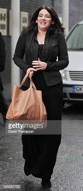 Nigella Lawson is seen out on the southbank on September 29 2010 in London England