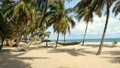 Nigeria, Lagos, View of idyllic beach