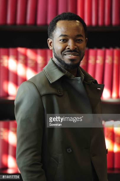 Nigerian actor OC Ukeje poses for a portrait during an interview about the new film Potato Potahto on July 13 2017 in Johannesburg South Africa The...