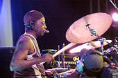 Nigerian drummer Tony Allen performs at the North Sea Jazz Festival on July 11th 2003 in Amsterdam Netherlands