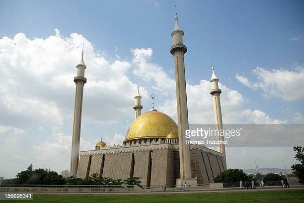 Nigerian National Mosque seen on November 2 2012 in Abuja Nigeria