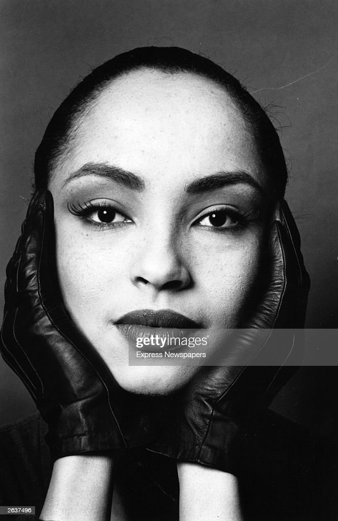Nigerian-born British singer and songwriter Sade (Helen Folasade).