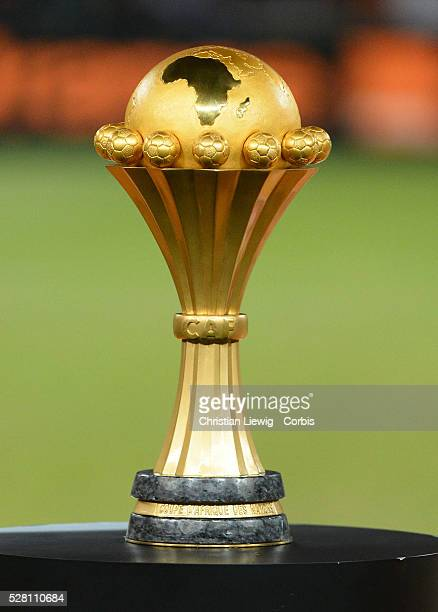 Nigerias Cup trophy during the 2013 Orange Africa Cup of Nations Final soccer match Nigeria VS Burkina Faso at Soccer city stadium South Africa on...
