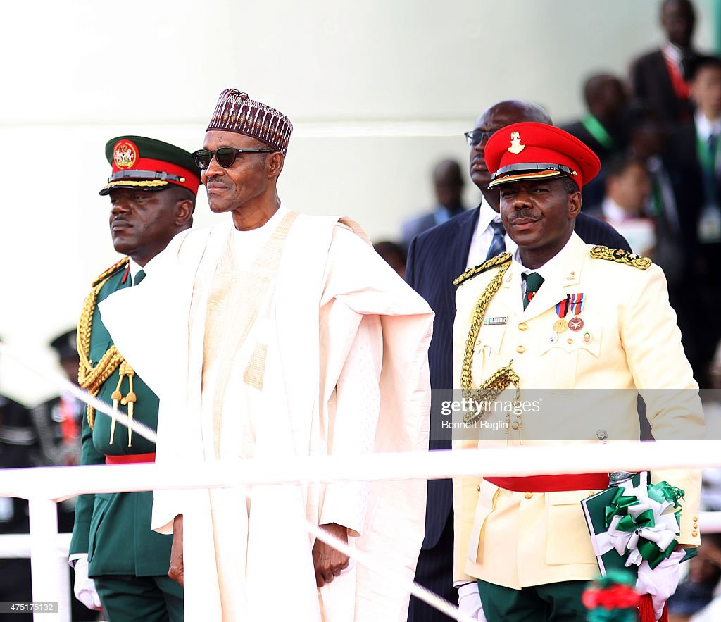 Image result for  buhari and military photos