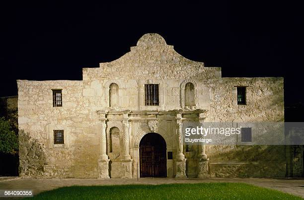 Night at Alamo San Antonio Texas