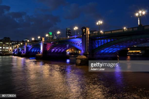 Night at Blackfriars Bridge