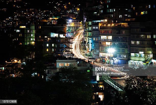 Night at Gangtok