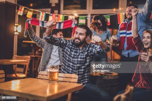 Night at the bar
