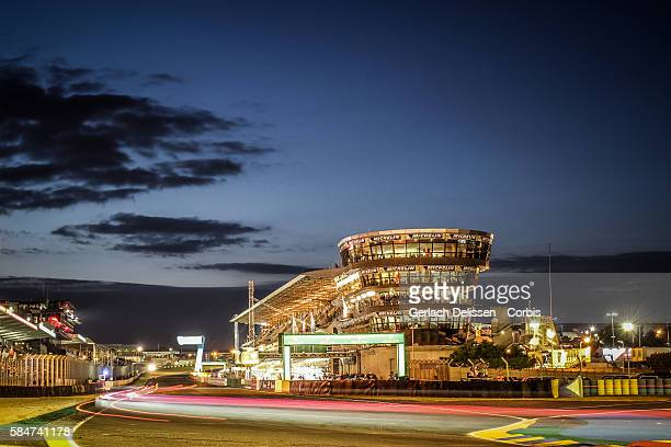 Night atmosphere during the 84th running of the Le Mans 24 Hours on June 18 2016 in Le Mans France