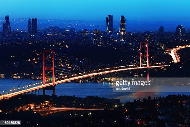Night Bosphorus Bridge