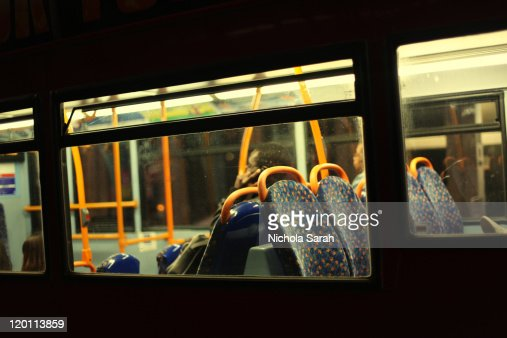 Night bus : Stock Photo
