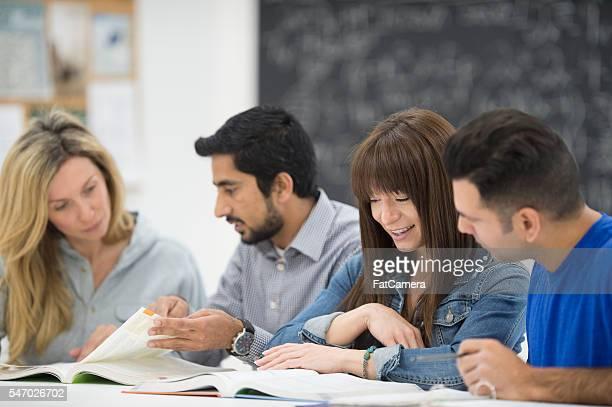 Night Classes at University