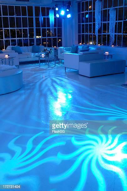 Night-Club Blue Lounge Vertical