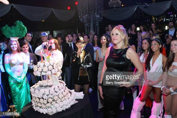 Night club owner Amy Sacco at her Birthday Celebration at the Body English nightclub at the Hard Rock Hotel Casino January 10 2008 in Las Vegas Nevada